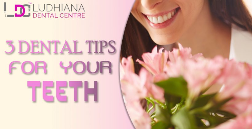 Three Dental Tips For Lovely Teeth