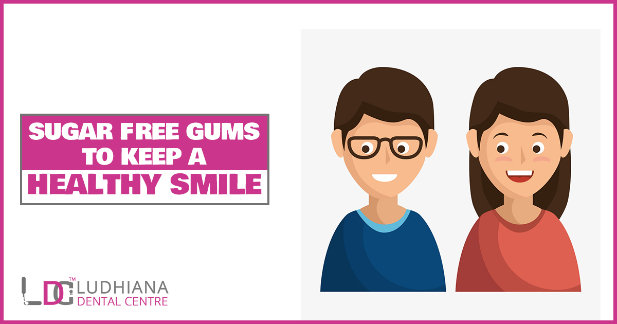 Sugar Free Gums to keep a Healthy Smile