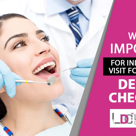 Why is it important for individuals to visit for a regular dental check-up?